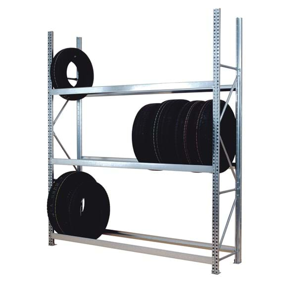 Midispan Galvanised Tyre Racking Levels (C70 Profile)