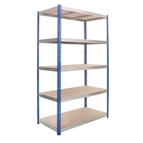 Kwikrack - Wide Open Bays with Heavy Duty Shelves