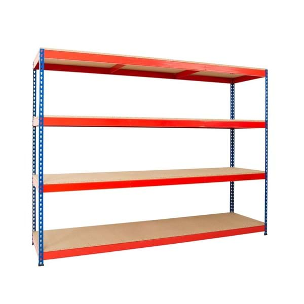 Heavy Rivet Racking - Wide and Short Bays