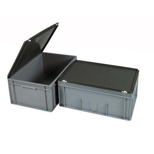 Euro Container Hinged Lid