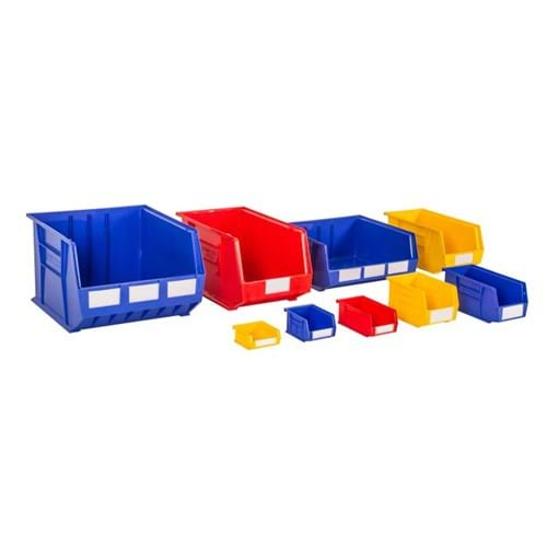 'Rhino Tuff' Plastic Bins - Coloured
