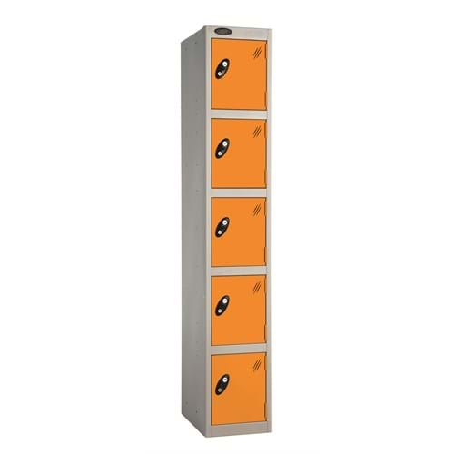 PROBE Five Compartment Locker