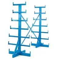 Double Sided Horizontal Bar Rack (Extension Bay)