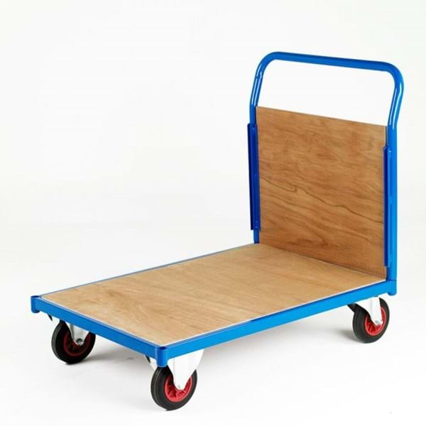 500 Series Platform Trolley - Single Wooden End