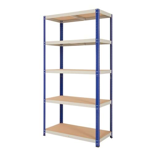 Clicka 175 Shelving (Blue/Grey)