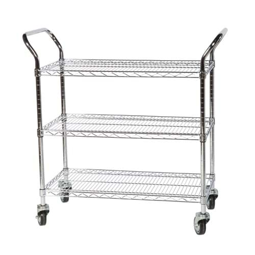 Eclipse Chrome Wire General Purpose Trolley