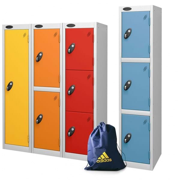 PROBE Low 3/4 Locker Three Tier Locker