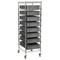 Eclipse Chrome Wire Euro Box Cart (To fit 120mm box)