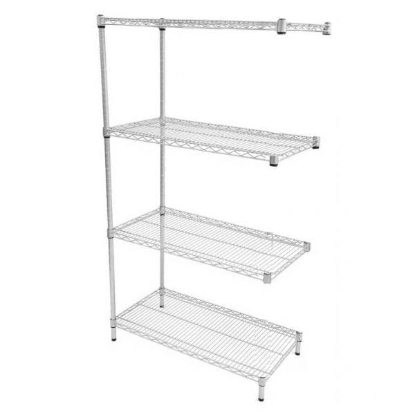 Eclipse Perma Plus Wire Shelving (Extension Bay 4 Shelves)