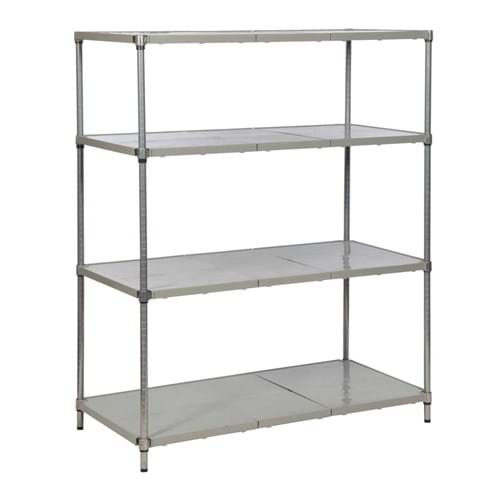 Eclipse Plastic Plus Shelving (Bay 4 Shelves)