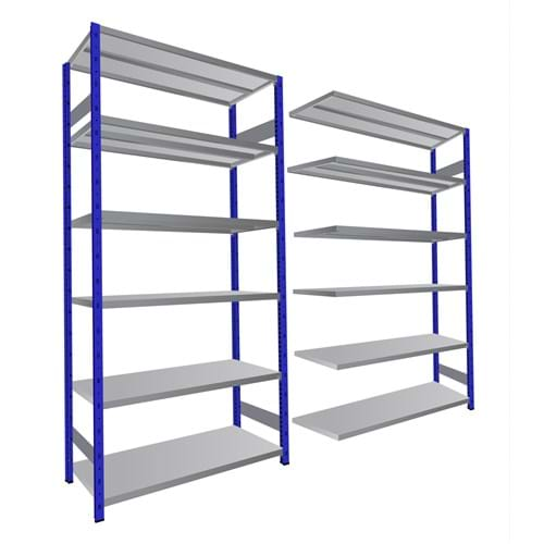 Expo 4 Open Shelving Bay (Extension Bay)