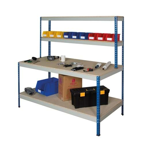 Rivet Workstation - Full Undershelf