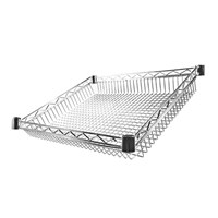Eclipse Chrome Wire Sloping Basket (27 Degree)