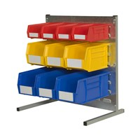 Plastic Bin Louvre Bench Stand Kits