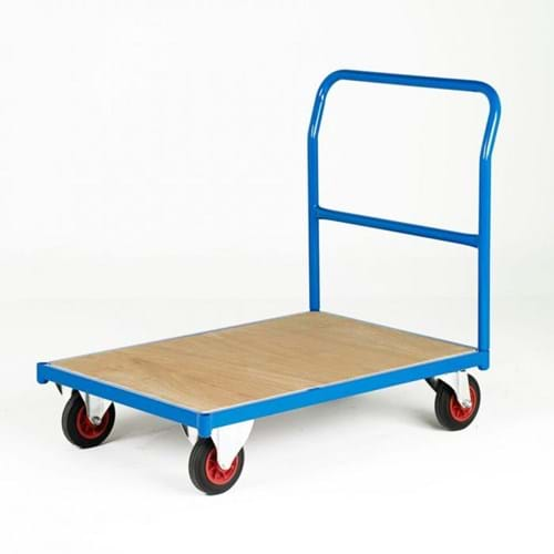 500 Series Platform Trolley - Single Plain End