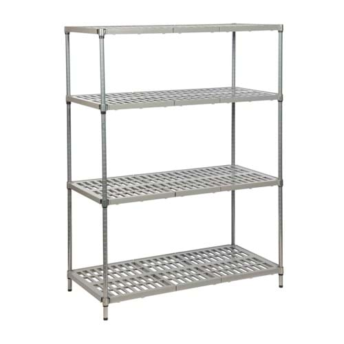 Eclipse Plastic Plus Vented Shelving (Bay 4 Shelves)