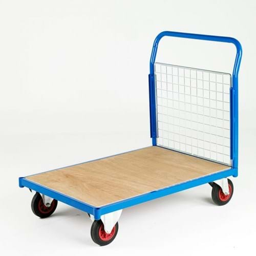 500 Series Platform Trolley - Single Mesh End