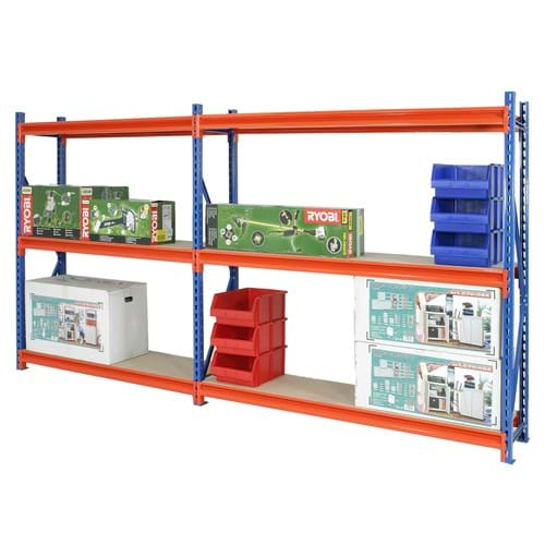 Longspan Heavy Duty Racking (Extension Bay)