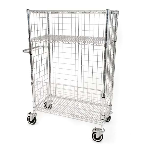 Eclipse Chrome Wire Laundry Cart
