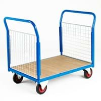 500 Series Platform Trolley - Double Mesh End